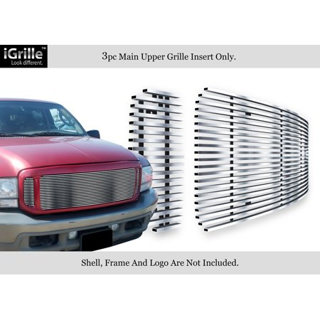 - For 99-04 Ford F250/F350/Super Duty/Excursion Stainless Steel Billet Grille #F65709C