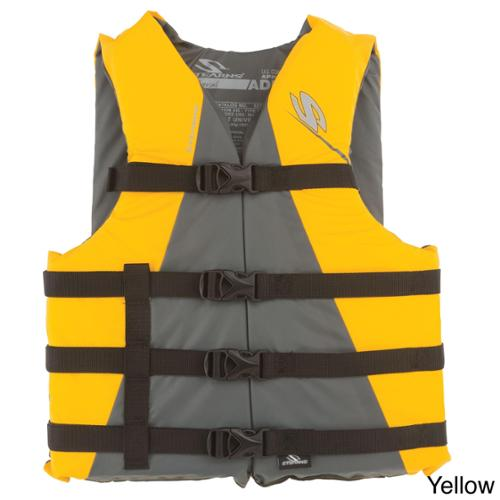 Adult Watersport Classic Series Vest Oversize - Yellow
