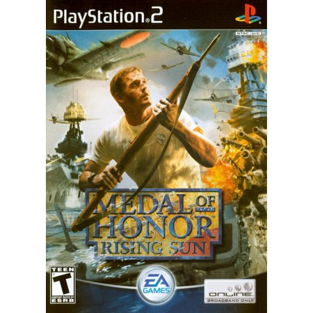 Medal of Honor: Rising Sun - PS2 (Refurbished) (Medal Of Honor Rising Sun Cheat Codes)