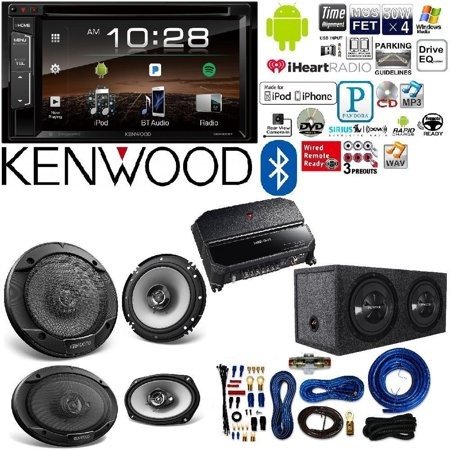 "Kenwood double Din 6.2"" Touchscreen Car DVD CD Stereo 6.5"" on"