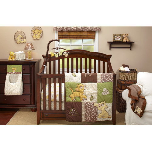 Disney Lion King Go Wild 4 Piece Crib Bedding Set