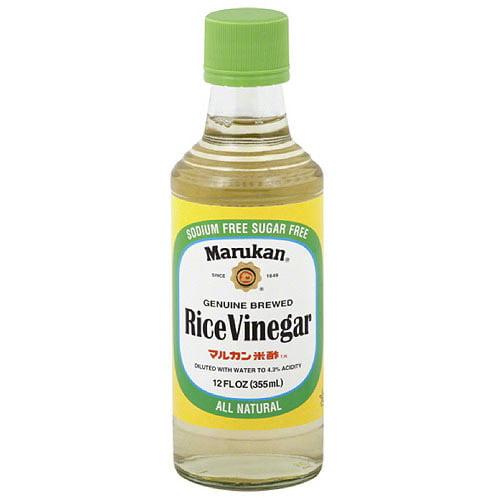 Marukan Rice Vinegar, 12FO (Pack of 6)
