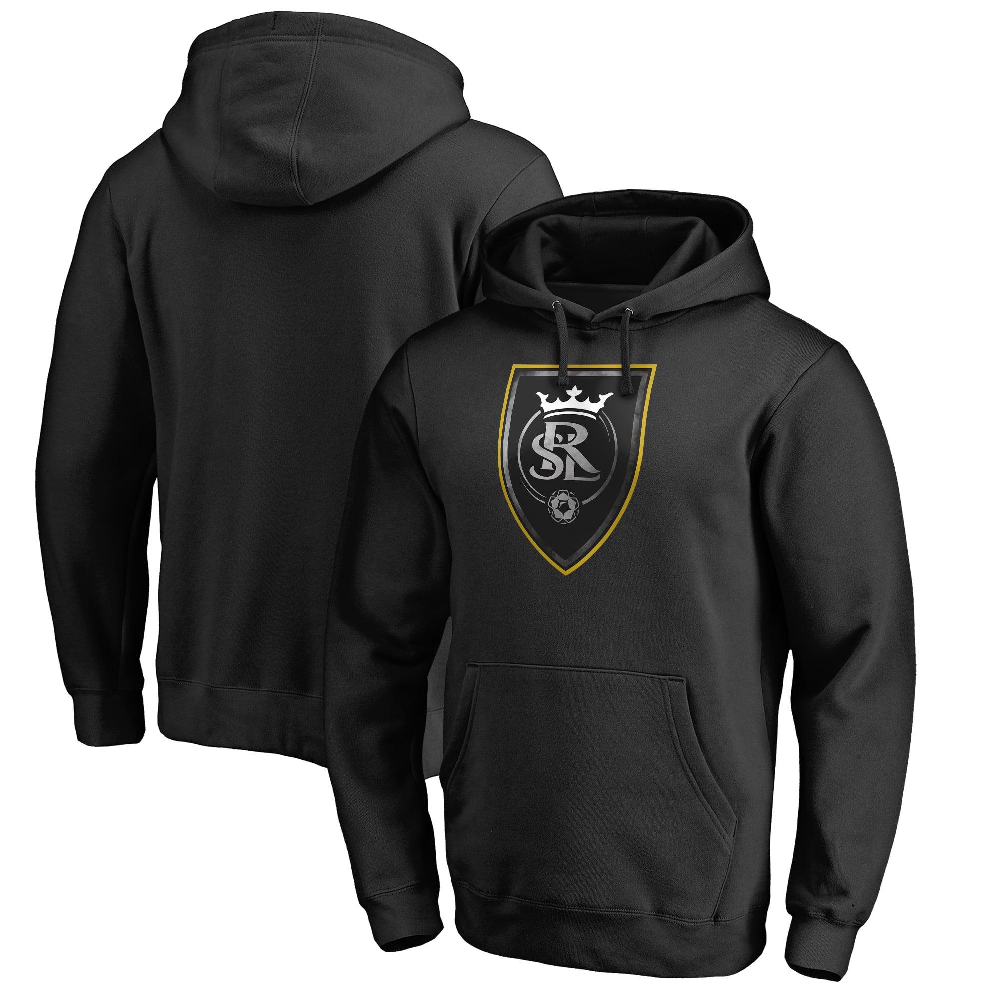 Real Salt Lake Fanatics Branded Core Smoke Pullover Hoodie - Black