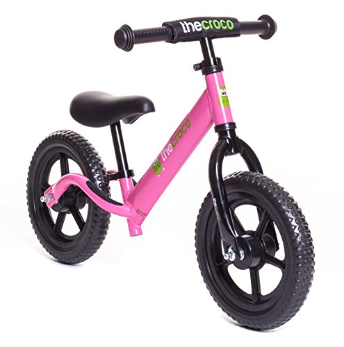TheCroco - LIGHTEST Aluminum Balance Bike, (4.3 lbs), Ages 1.5 to 5 Years
