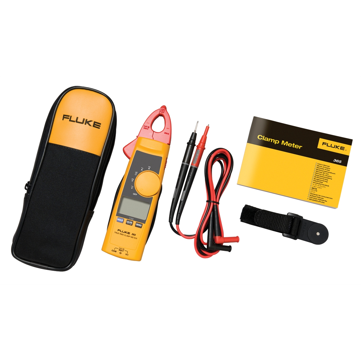 Detachable Jaw True-RMS AC DC Clamp Meter