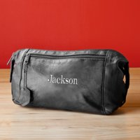 Personalized Travel Shaving Toiletry Bag - Personalized Travel Kit