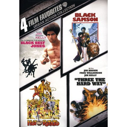 Urban Action Collection: 4 Film Favorites (Widescreen)