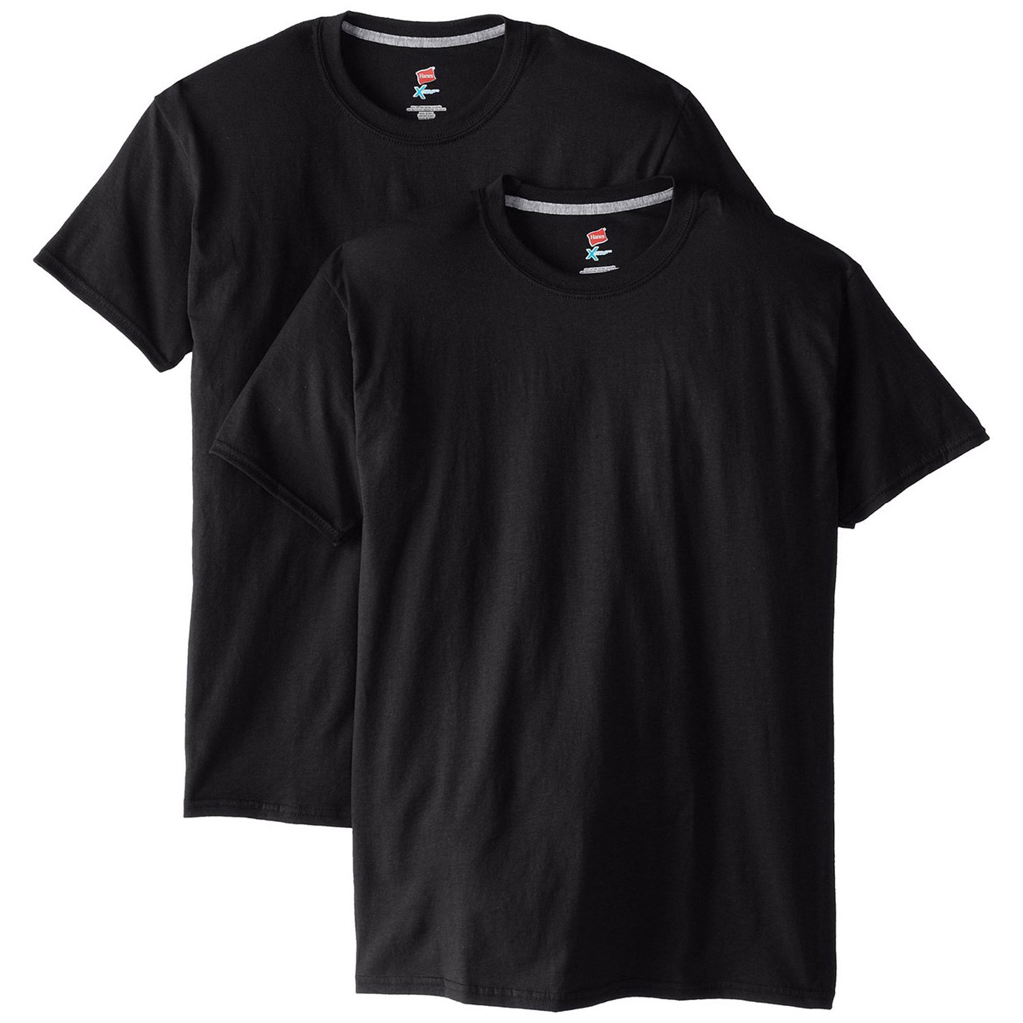Hanes Men Short Sleeve X-Temp T-Shirt, Pack of 2