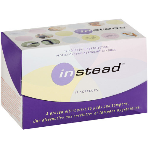 Instead Softcups Vaginal Inserts, 14pk