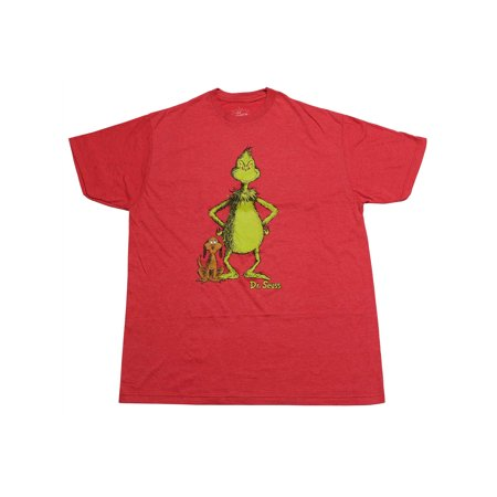 Men's The Grinch Who Stole Christmas & Max T-Shirt Heather Red - Toddler Grinch Shirt