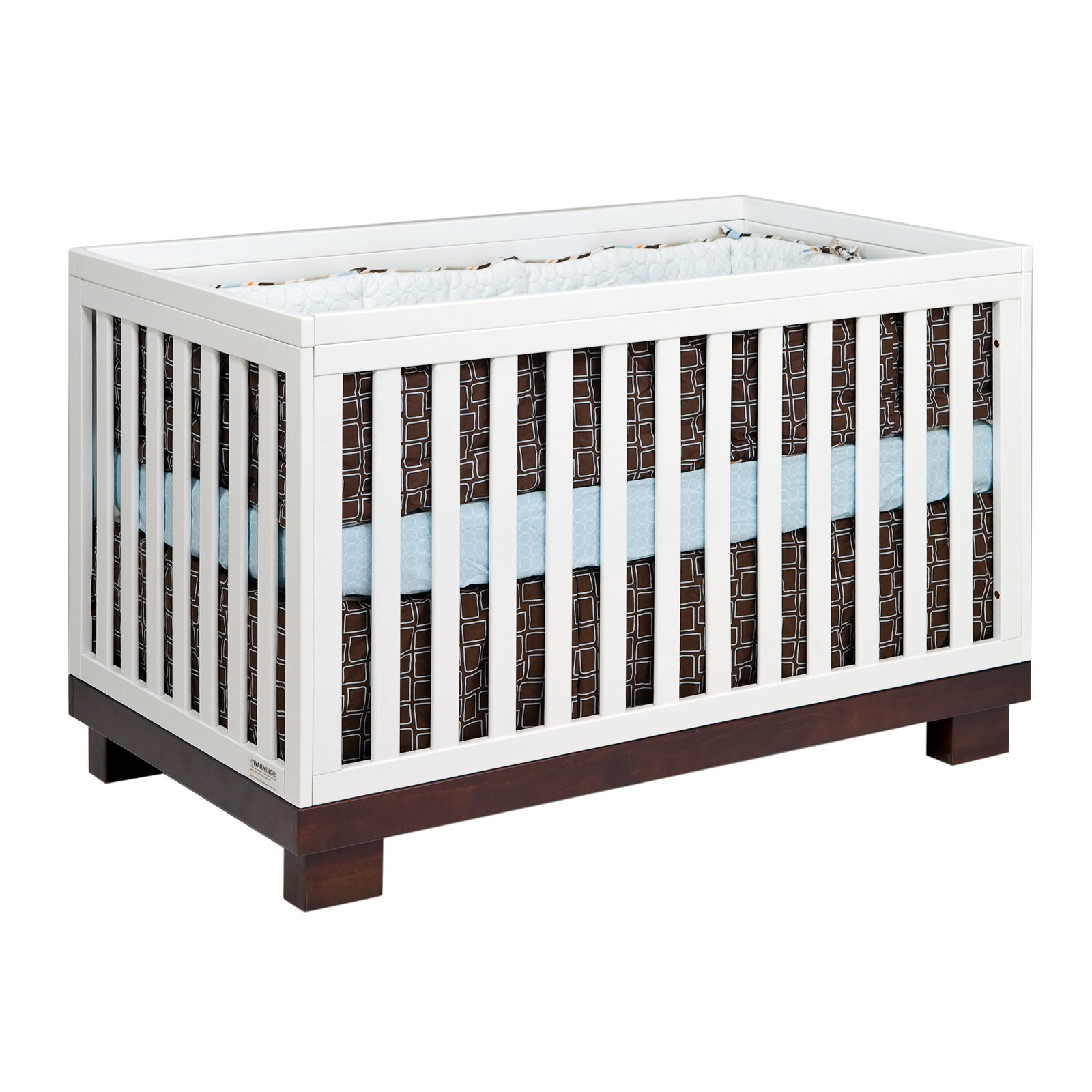 Babyletto Modo 3-in-1 Convertible Crib with Toddler Rail, White by Babyletto