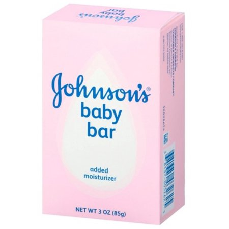 JOHNSON'S Baby Bar 3 oz (Pack of 3) (Bar Baby)