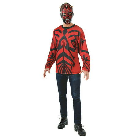 Star Wars Mens Darth Maul Halloween - Star Wars Darth Maul Mask
