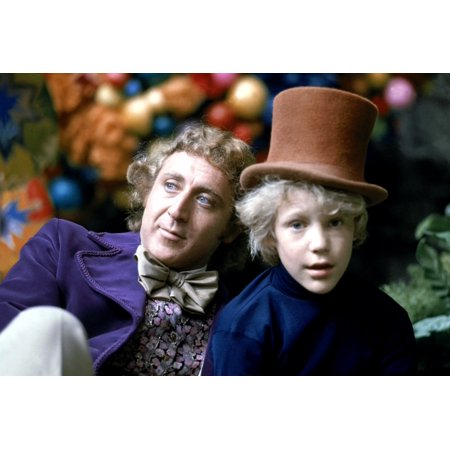 Willy Wonka And The Chocolate Factory Gene Wilder Peter Ostrum 1971 Photo Print (8 x -