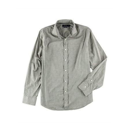 Ralph Lauren Mens Heather Poplin Button Up Shirt