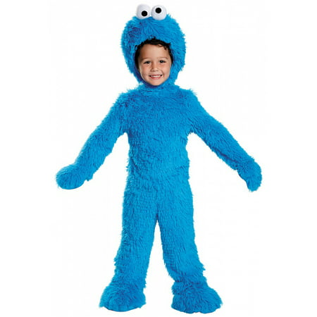 Extra Deluxe Cookie Monster Baby Infant Costume - Toddler Medium