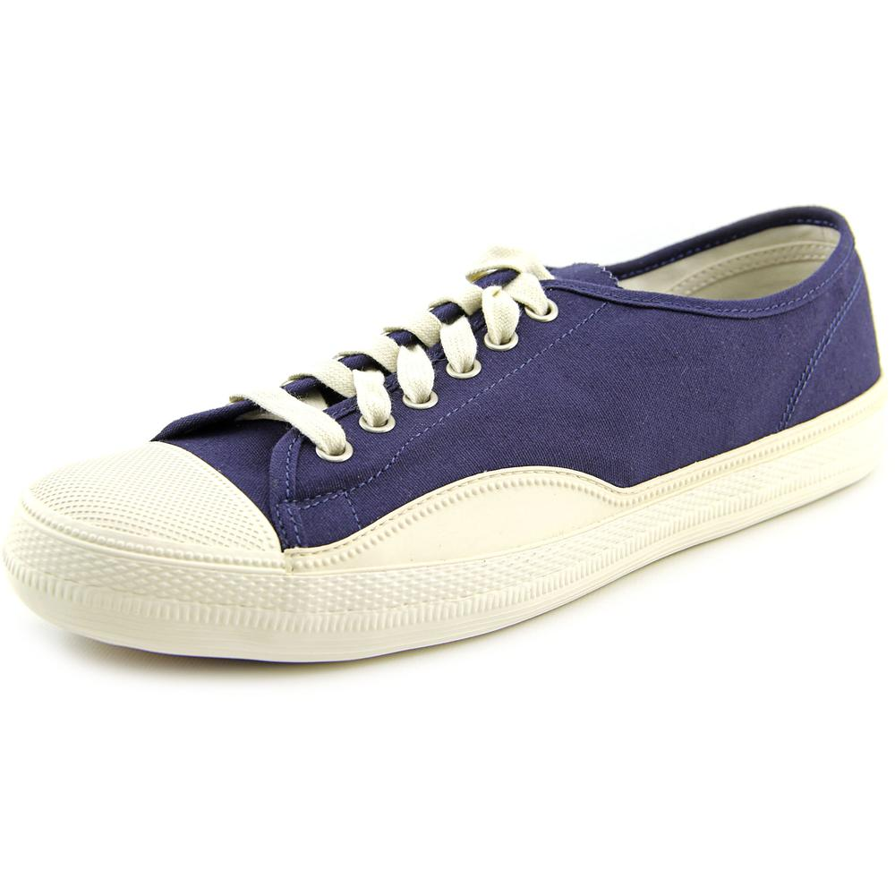 Tretorn Racket H Low Men Canvas Blue Fashion Sneakers by Tretorn