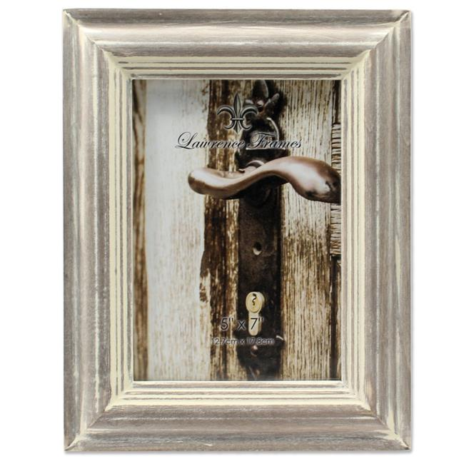 LawrenceFrames 732257 5 x 7 in. Washed Picture Frame, Gray - image 1 de 1