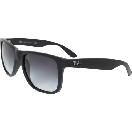 Ray-Ban Mens Justin RB4165-601 8G-55 Black Wayfarer Sunglasses by