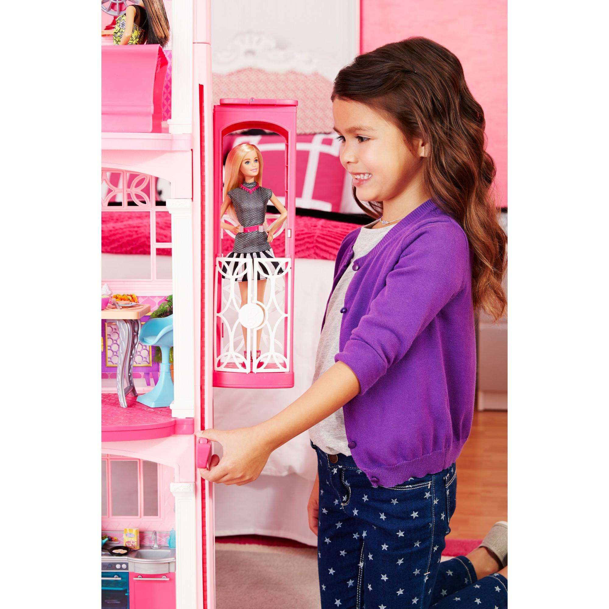 Barbie DreamHouse Playset with 70 Accessory Pieces Walmart