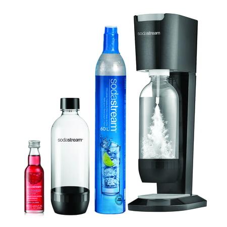 SodaStream Genesis Black Sparkling Water Maker Bundle Kit