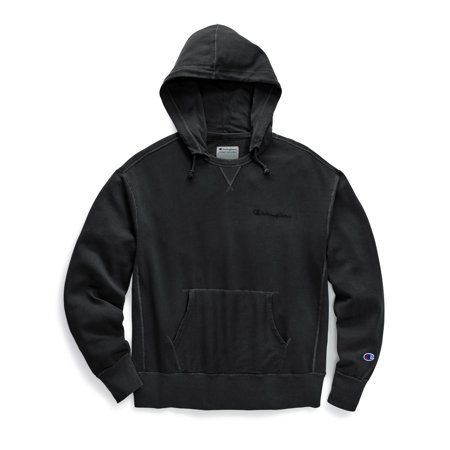 50d70659 Champion Mens Vintage Dye Fleece Pullover Hoodie, L, Embroidered Teal Largo  - image 1 ...