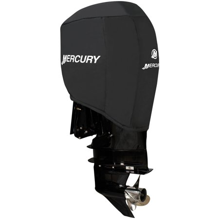 Attwood 105762 custom fit mercury motor cover 150 hp 4 for Boat motor cover walmart