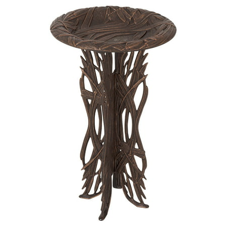 Whitehall Dragonfly Birdbath with Pedestal (Whitehall Traditional Directions)