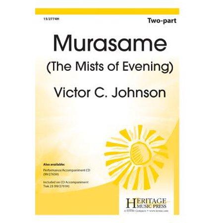 Murasame (The Mists of Evening)-Ed Octavo - 2-pt,Piano - Rain Stick,Chime tree,P/A CD,Acc CD - New Horizons - Victor C Johnson - Sheet Music - (Fool In The Rain Piano Sheet Music)