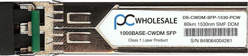 Cisco Compatible DS-CWDM-SFP-1530 1000BASE-CWDM 1530nm SFP Transceiver by Cisco