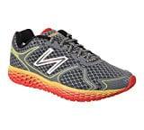 New Balance Men's M980 Fresh Foam V1 Running Shoe, Grey/Yellow, 8.5 D US