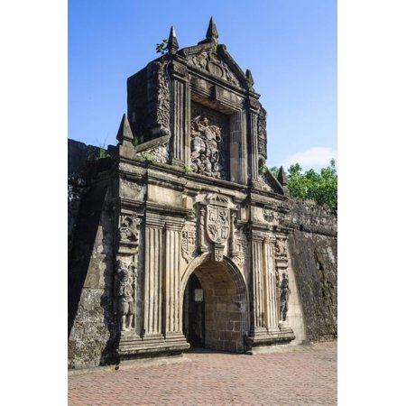 Entrance to the Old Fort Santiago, Intramuros, Manila, Luzon, Philippines, Southeast Asia, Asia Print Wall Art By Michael (Old Van For Sale Philippines)