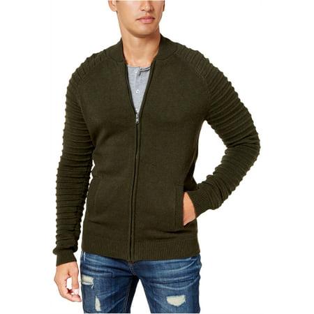 American Rag Mens Moto Bomber Cardigan Sweater
