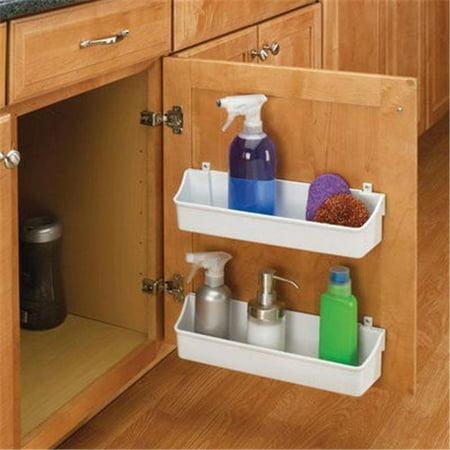 Rev A Shelf Rs6235.08.15.52 7-.88 In. Polymer Door Storage Trays - Almond