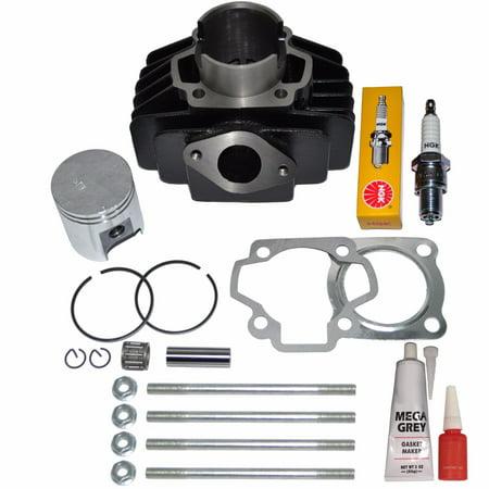 Top Notch Parts Yamaha Yf60 YF 60 Four-Zinger Piston Rings Cylinder Gasket Top Kit Set 1986 New