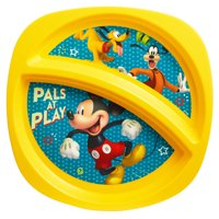 Disney Mickey Mouse Divided Toddler Plate