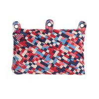 Deals on ZIPIT Pixel 3 Ring Pencil Case, Blue and Red
