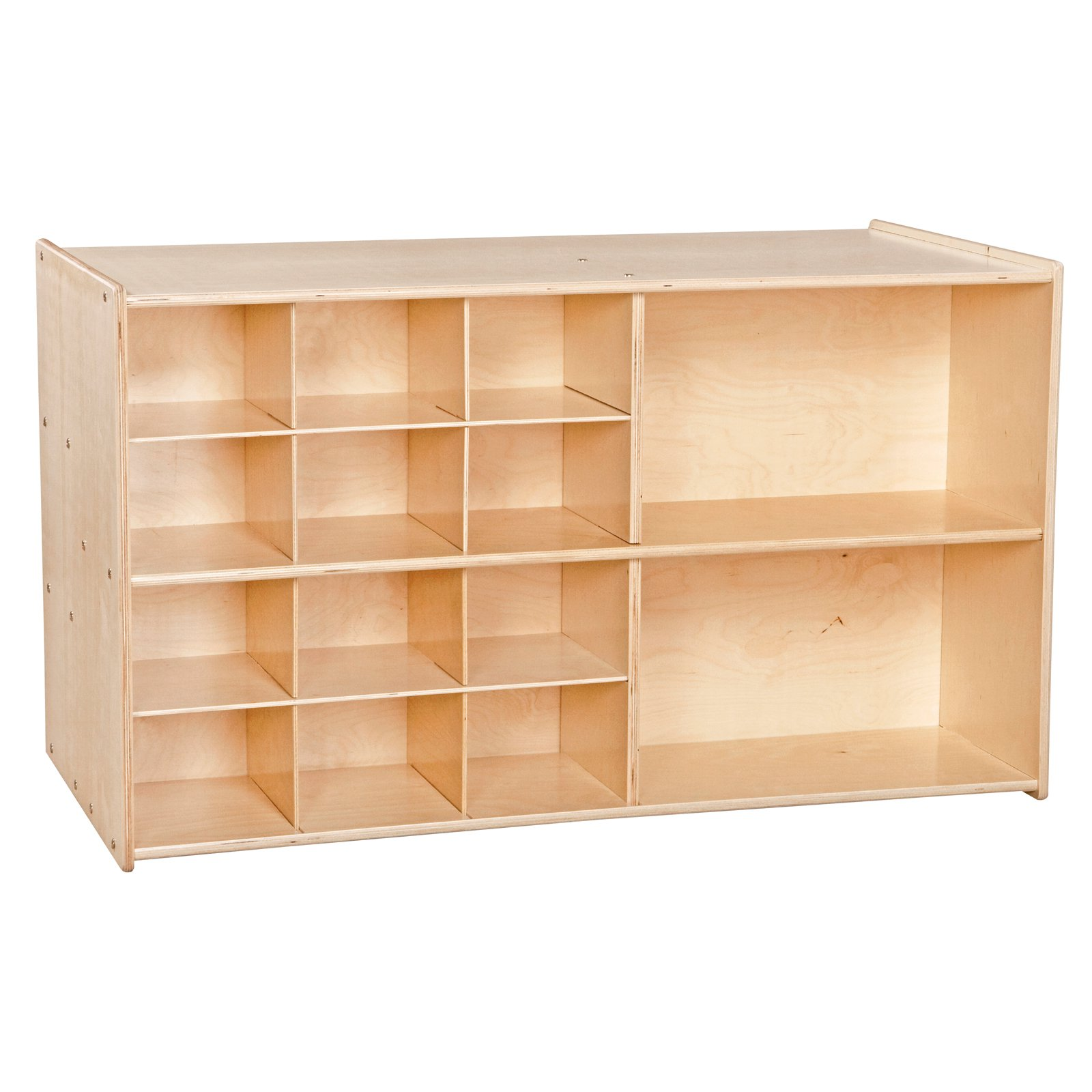 Wood Designs Contender Double Mobile Storage