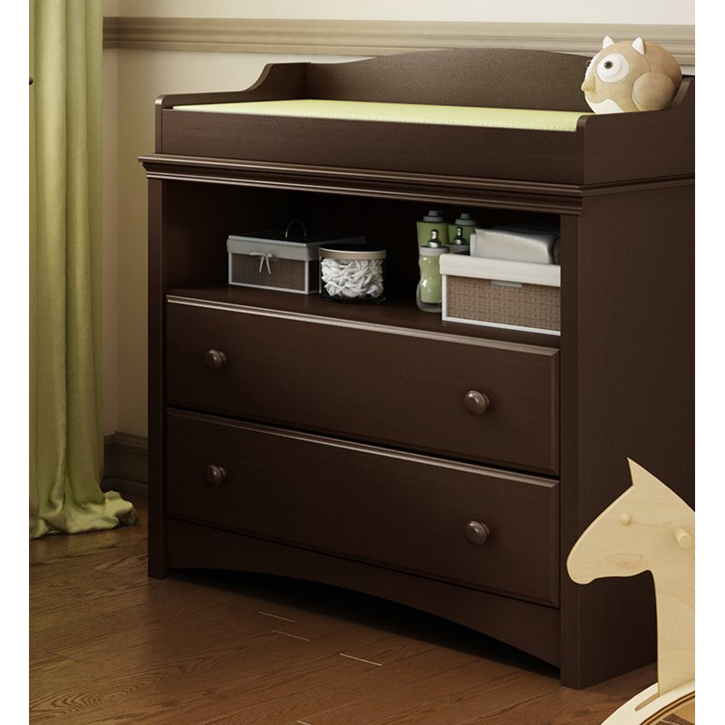 South Shore Angel Changing Table And Armoire