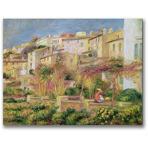 """Trademark Fine Art """"Terrace in Cagnes"""" Canvas Wall Art by Pierre Renoir"""