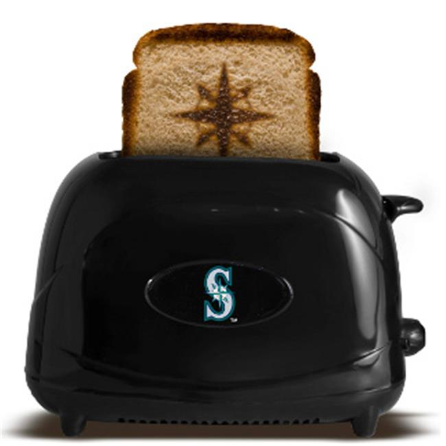 Athlon CTBL-014151 Seattle Mariners Logo MLB Protoast Elite Toaster - Black
