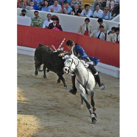 LAMINATED POSTER Portugal Bullfighter Bull Fighting Torero Poster Print 24 x - Bullfighter Hat