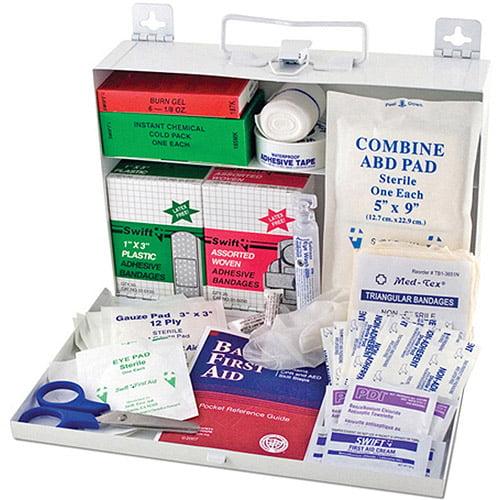 DMI Metal 25-Person First Aid Kit