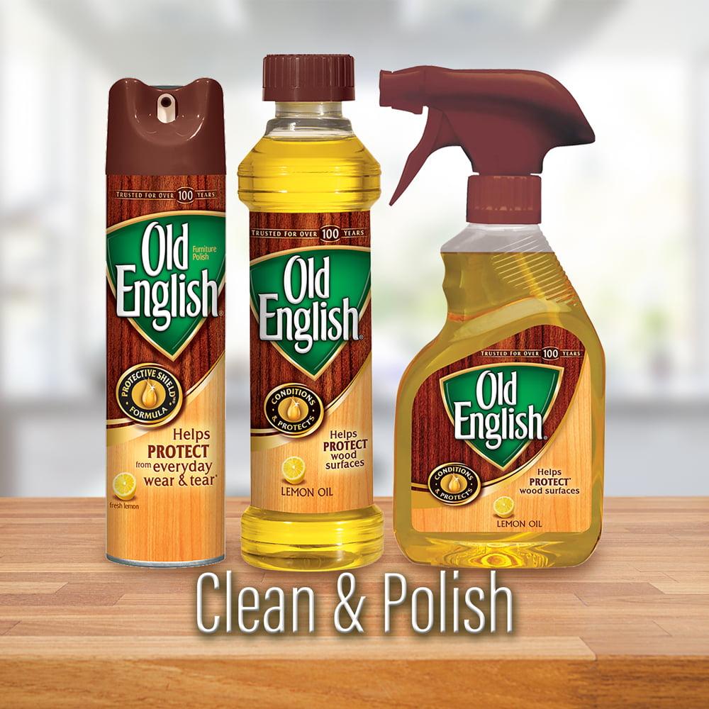 Lemon Oil Furniture Polish 16oz Bottle
