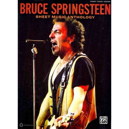 Bruce Springsteen Guitar - Bruce Springsteen, Sheet Music Anthology