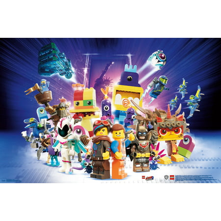 Logo Wall Decor - LEGO Movie 2 - Group