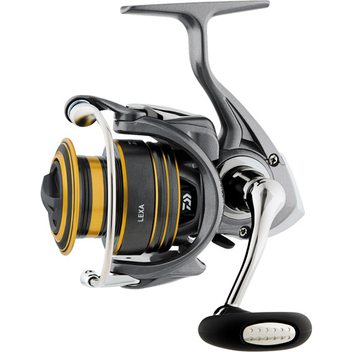 Daiwa Lexa 1500SH Spinning Reel, 4 1 Ball Bearings, 6 lbs/100 yds