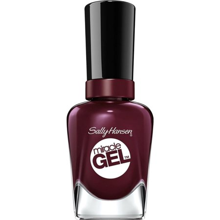 Sally Hansen Miracle Gel Nail Color, Wine Stock 0.50