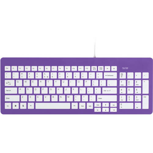 FileMate Imagine Series USB Standard Keyboard, Assorted Colors