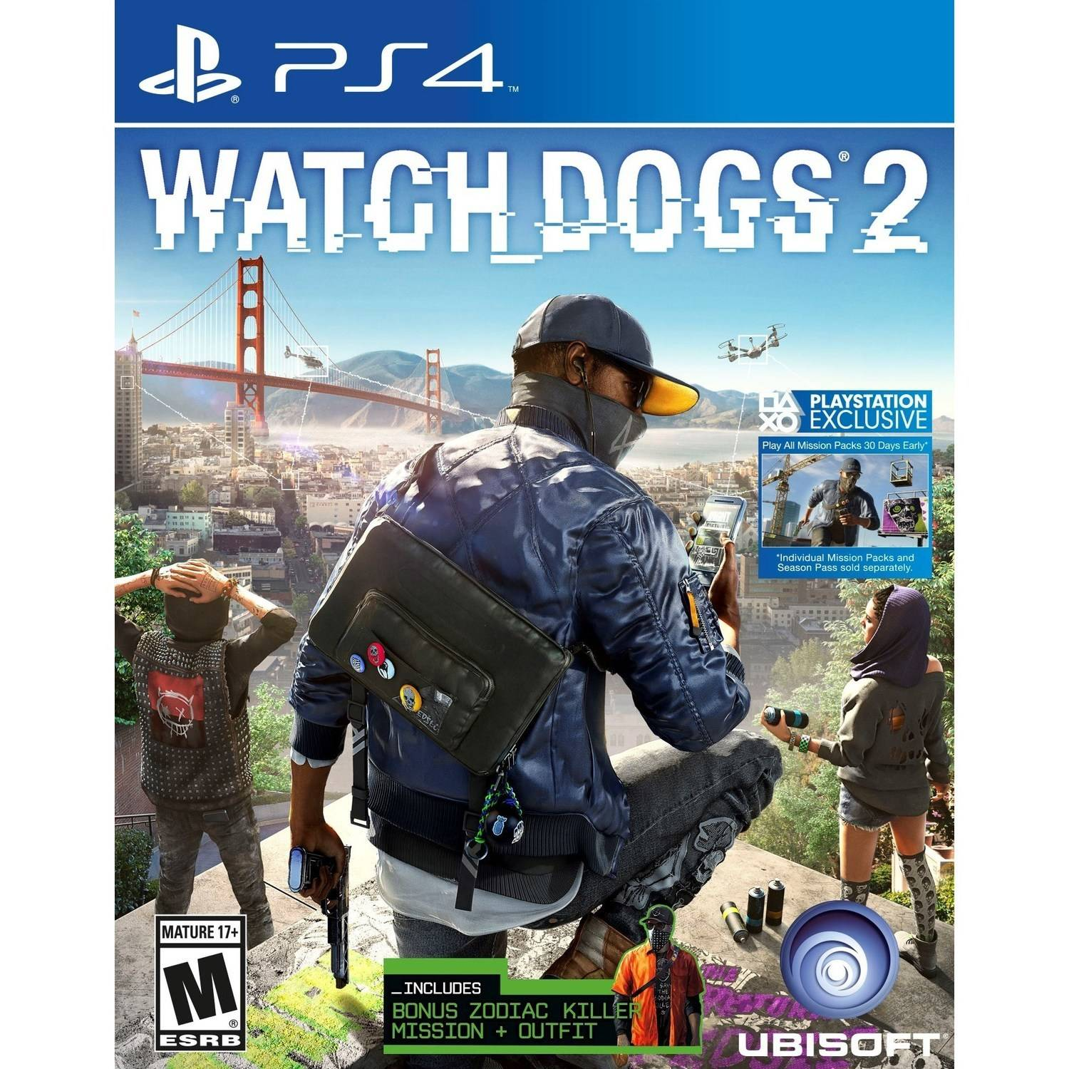Watch Dogs 2 Day 1 Edition (PS4)